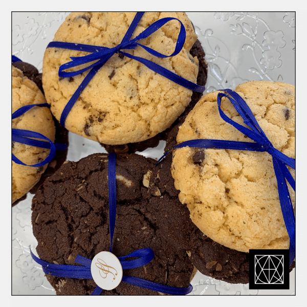 Amerikietiškų sausainių porelė