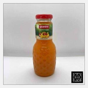 Įvairių vaisių nektaras GRANINI, 250 ml