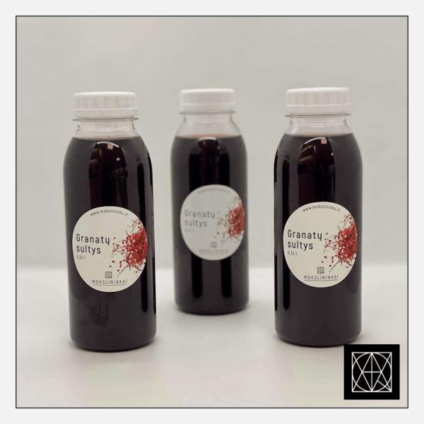 Granatų sultys, 330 ml