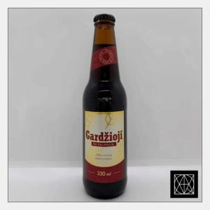 Gazuotas gaivusis giros gėrimas GARDŽIOJI GIRA, 330 ml