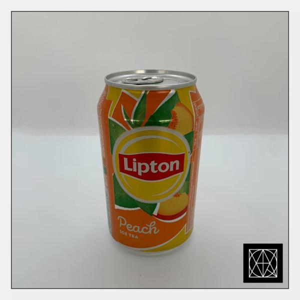 Šaltoji persikų skonio arbata LIPTON, 330 ml